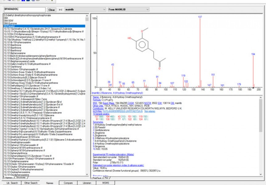 NIST Library software   JSB